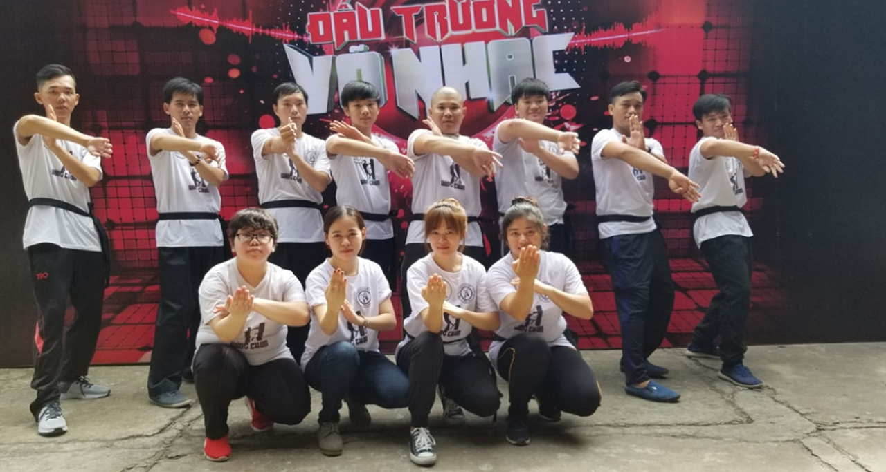 Young people are eager to participate on arena of martial arts