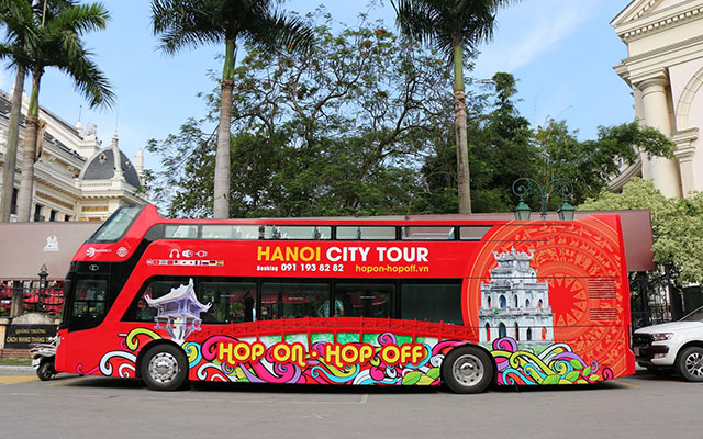 Hop On Hop Off Bus Tour Hanoi