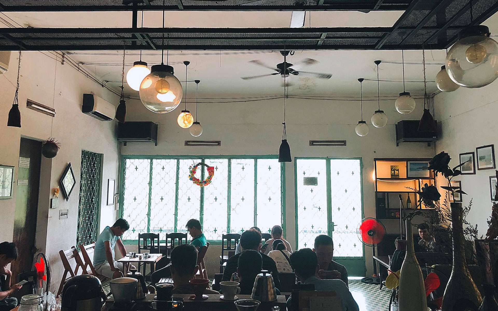 relax in Hue Cafe Roastery