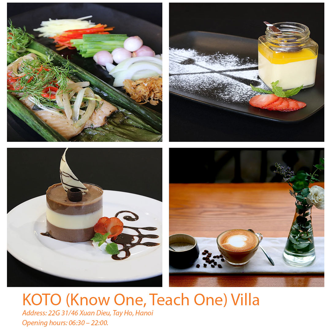 KOTO (Know One, Teach One) Villa