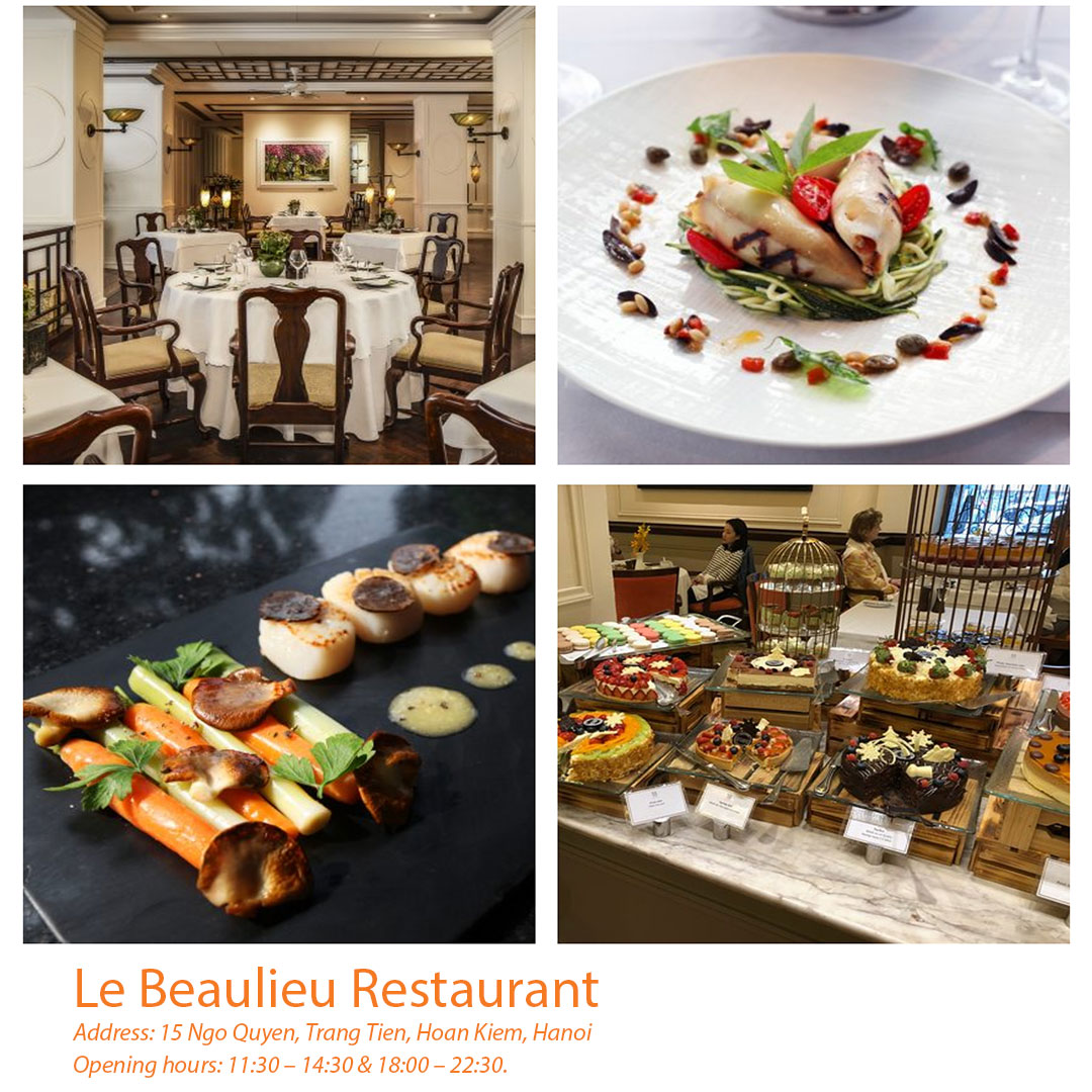 Le Beaulieu Restaurant at Sofitel Legend Metropole Hanoi