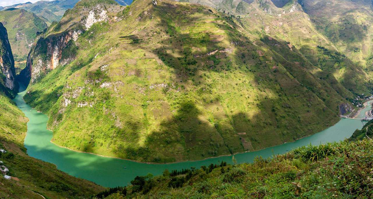Nho Que river view from Ma Pi Leng pass