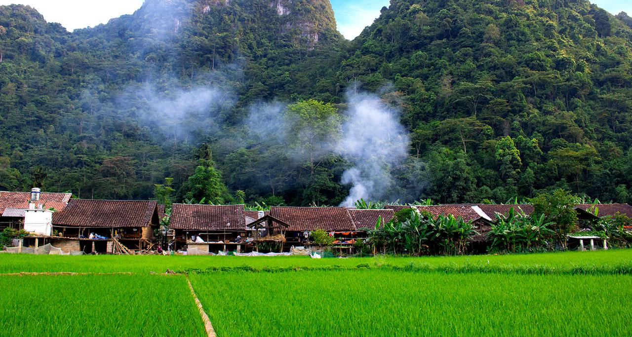a village in Cao Bang