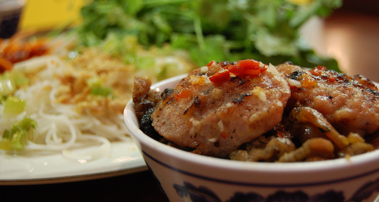Bun Cha is the top choice when it comes to lunchtime in the capital