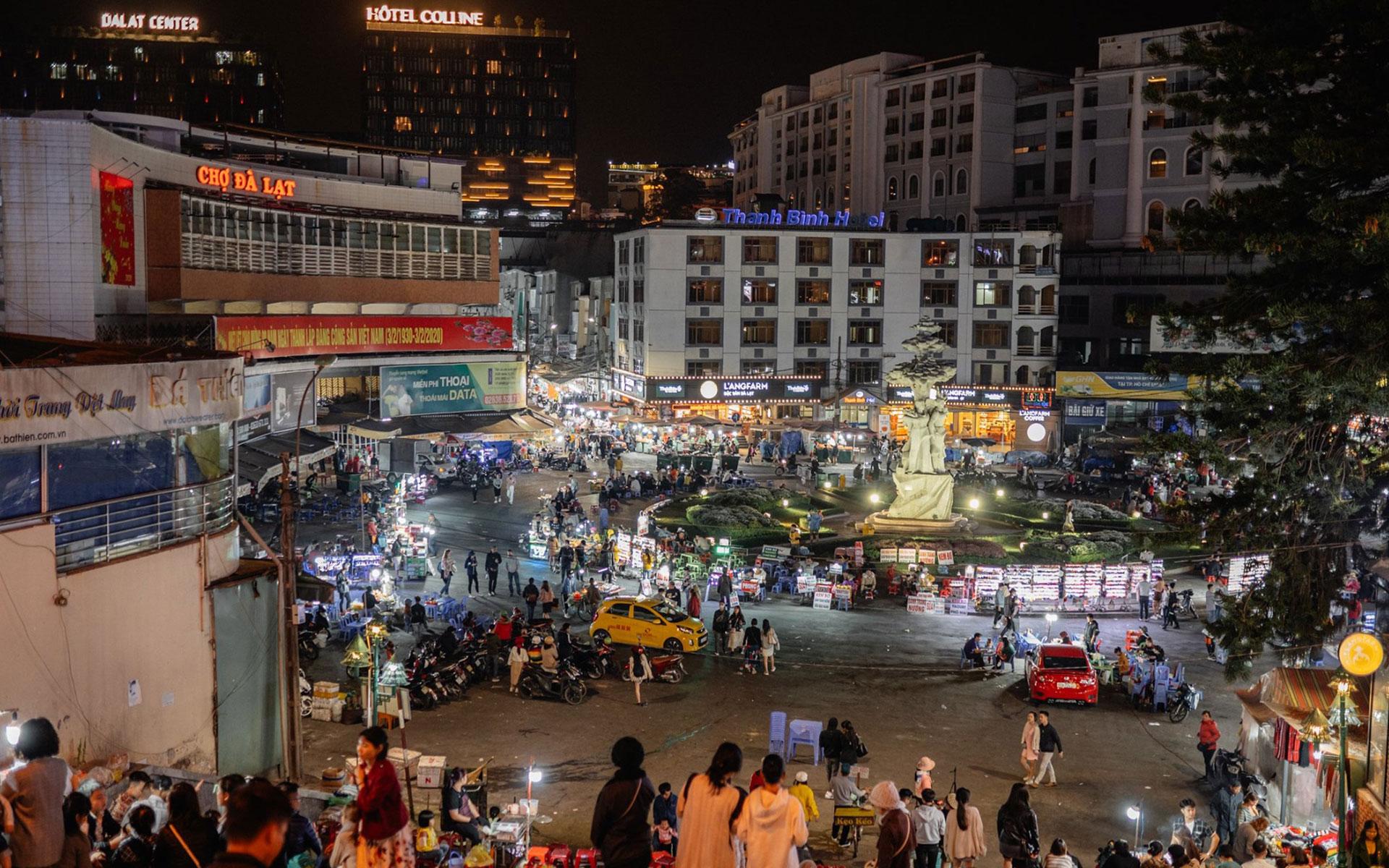 Dalat travel guide - Dalat Central Market