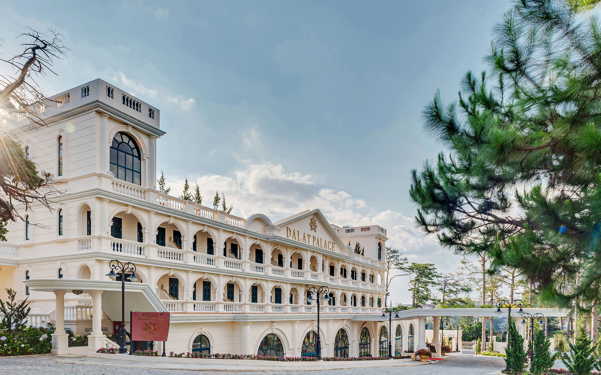 Dalat Palace offers luxurious elegance, gracious service and French colonial charm