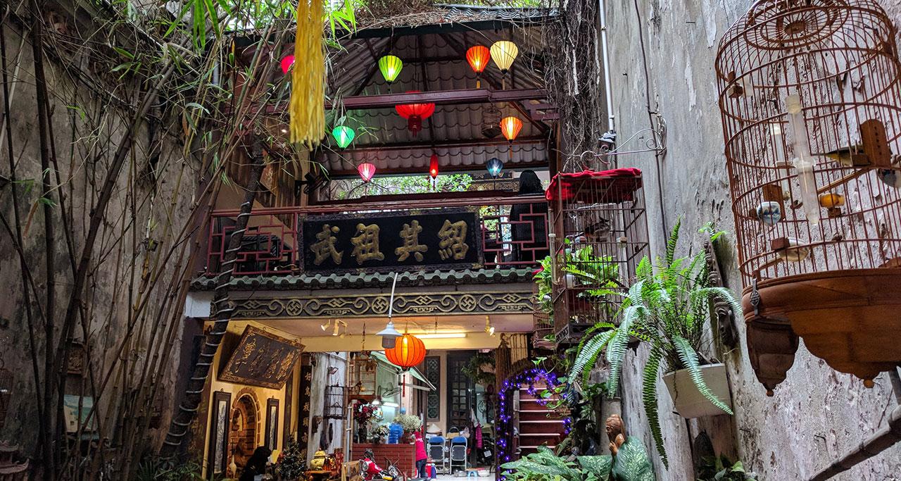 vuon-pho-co-cafe-on-Hanoi-Street-Food-Tour