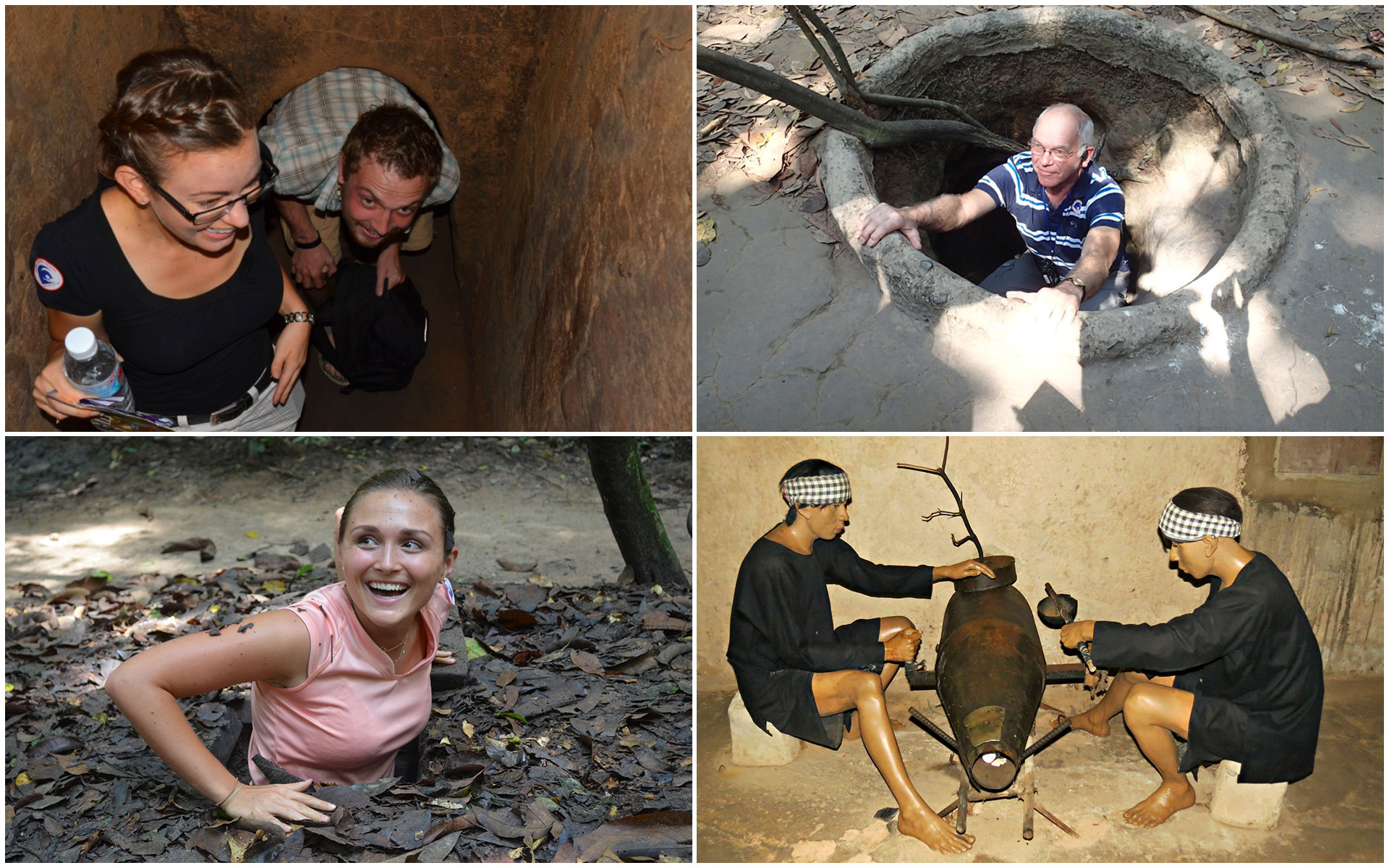 School trips in Vietnam - Cu Chi Tunnels
