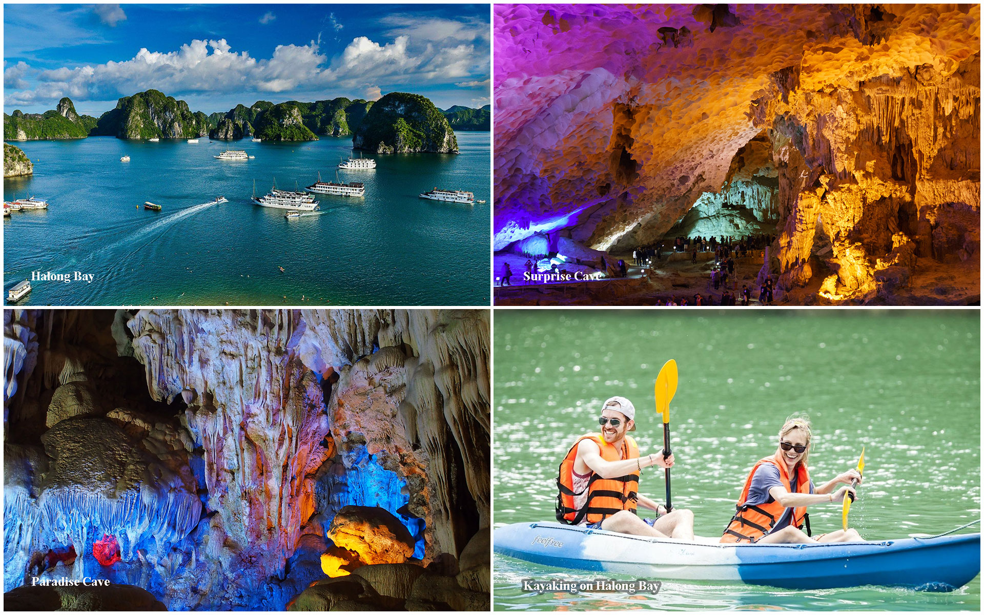 School trips in Vietnam - Halong Bay