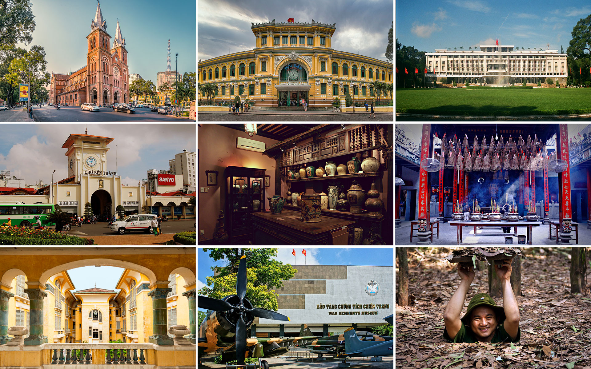 top 9 famous attractions in Ho Chi Minh City