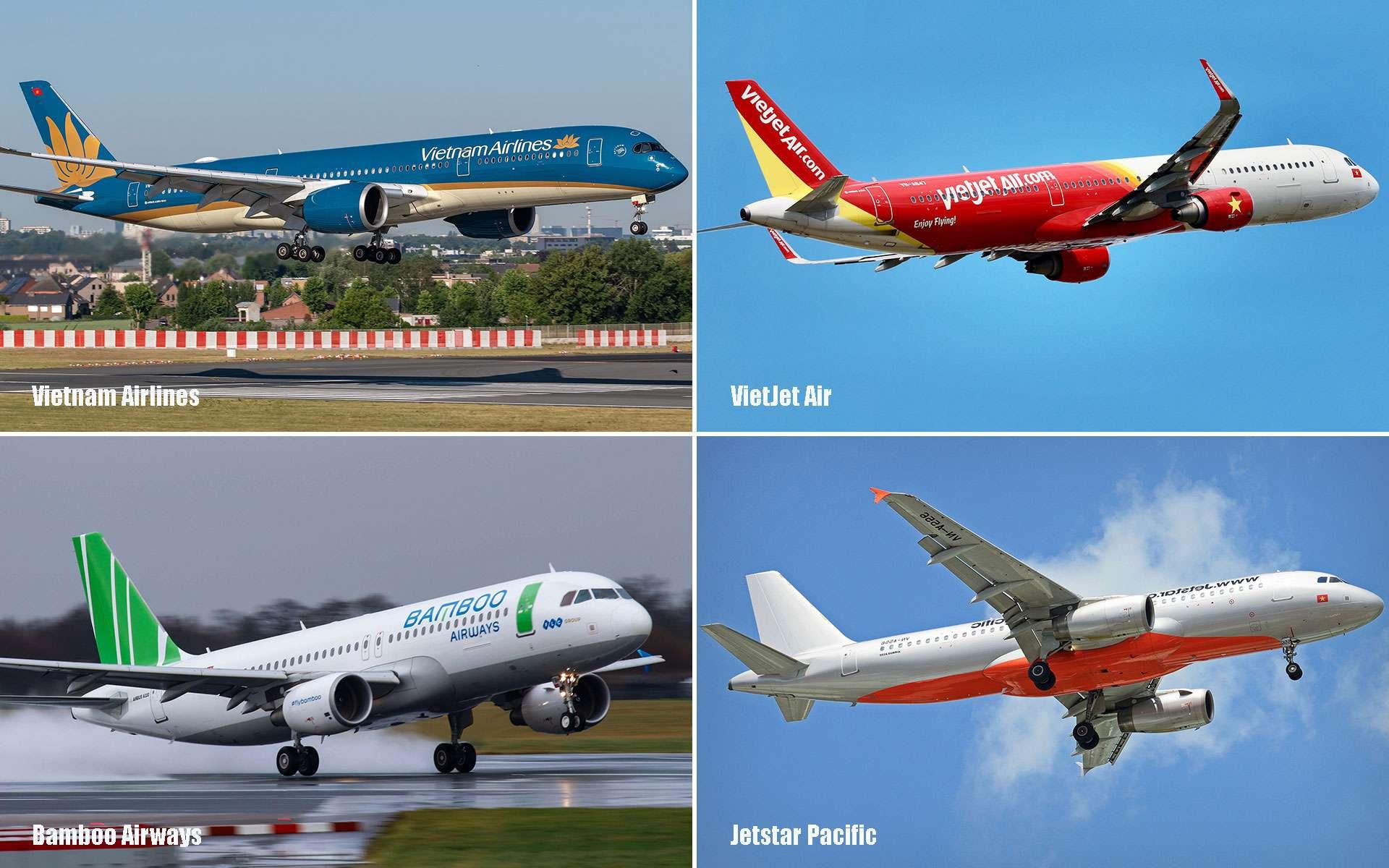 4 popular carriers in Vietnam