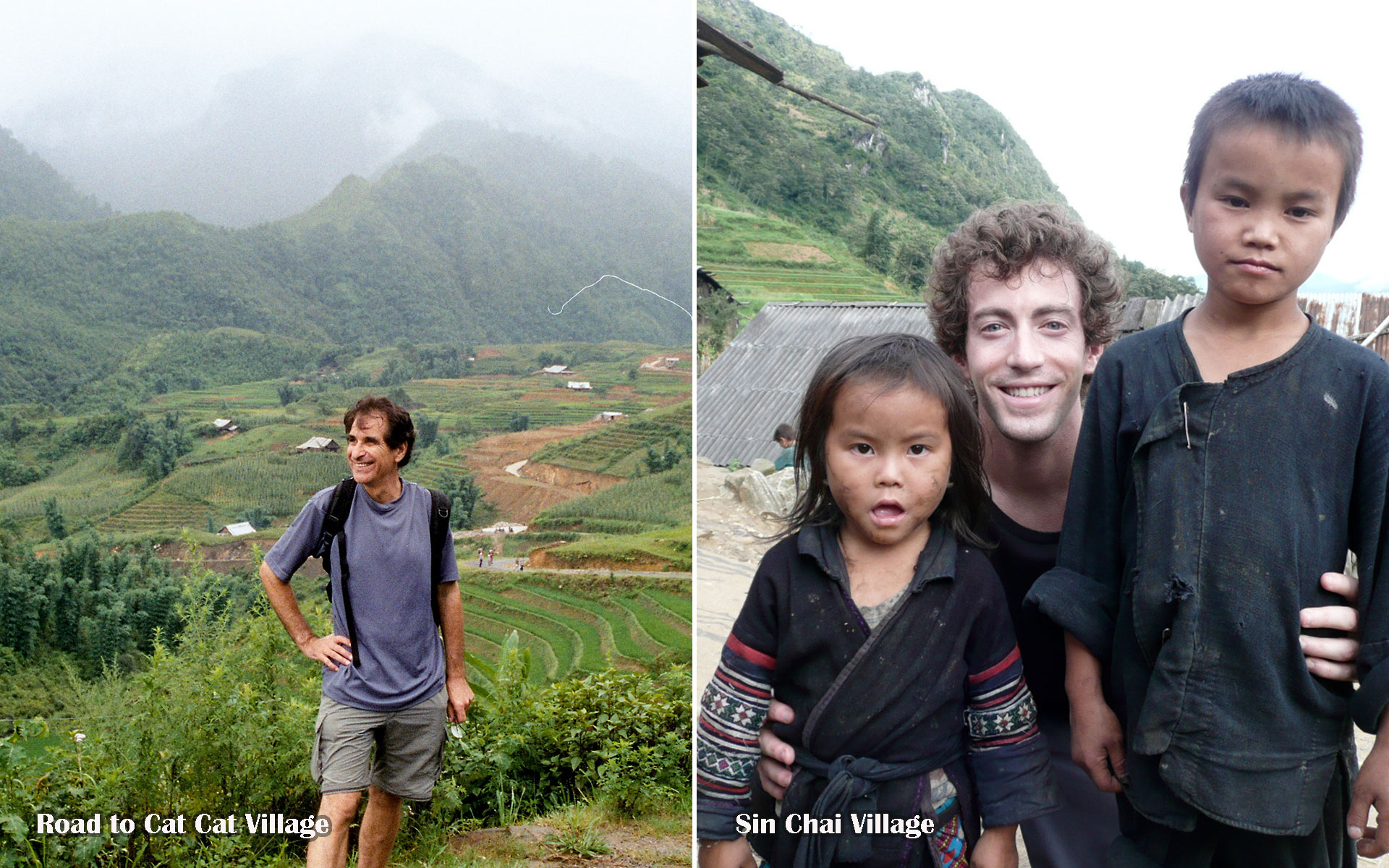 trekking to Cat Cat and Sin Chai Villages