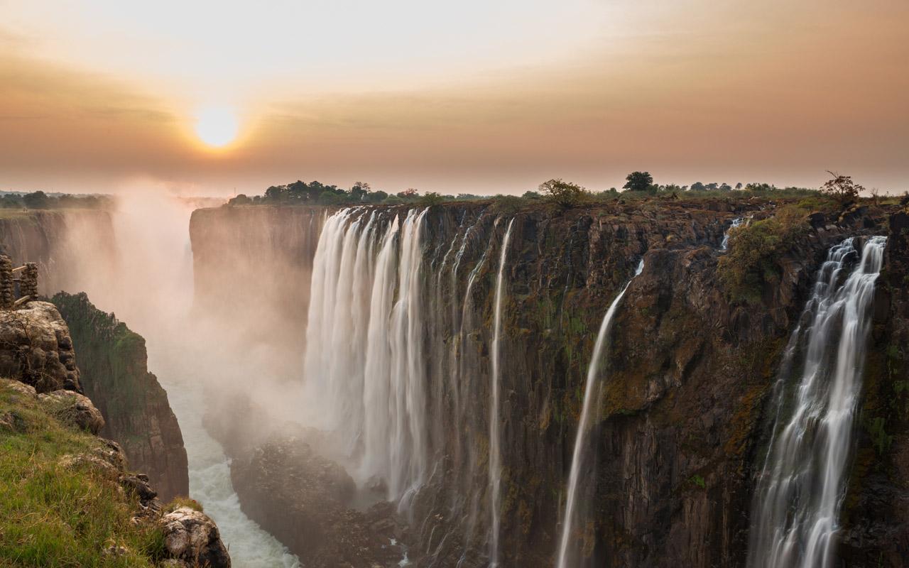 Victoria Falls National Park Zimbabwe