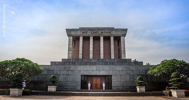 Visit the Ho Chi Minh Mausoleum